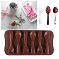 Силиконова форма за шоколадови бонбони Лъжички-Дом и Градина