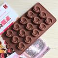 Силиконова форма за шоколадови бонбони Розички-Дом и Градина