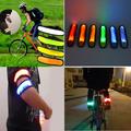 Аварийна светеща LED лента за ръка светлоотразителна гривна-Играчки и Хоби