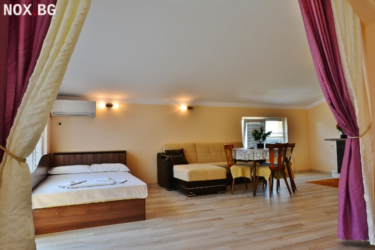 Двустаен апартамент под наем в затворен комплекс с басейн | Апартаменти | Бургас
