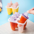 Форми за сладолед на клечка Животни формички за ледени близа-Дом и Градина