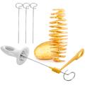 Уред за картофени спирали нож резачка за картофи на спирали-Дом и Градина