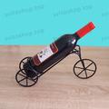 Метална стойка за бутилка вино Велосипед, матирано черен цвя-Други