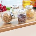 Комплект стъклени бурканчета за подправки 4 броя-Дом и Градина