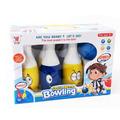 Комплект детски боулинг 6 кегли и топка за боулинг Усмивки-Детски Играчки