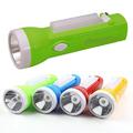 LED фенер с чупеща глава зареждане на ток 1W LED+10SMD Led 1-Дом и Градина