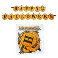 Хартиен надпис Happy Halloween парти гирлянд с тикви-Други
