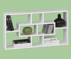 Етажерка - Бял гланц-Мебели и Обзавеждане