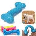 Играчка за куче релефен гумен кокал за дъвчене гризане-Аксесоари