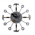 Стенен часовник инструменти подарък за майстори 37см-Други