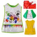 Детска престилка за рисуване с джобчета PVC за деца 4-7 години-Аксесоари