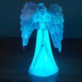 Коледен светещ ангел коледна украса 22см Коледен светещ анг-Изкуство
