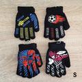 Детски ръкавици за момче с пръсти Спайдърмен футбол 3-6 годи-Аксесоари