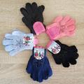 Детски плетени зимни ръкавици с камъчета за момиче 3 размера-Други