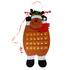 Текстилен коледен календар с джобчета Дядо Коледа или Еленче | Дом и Градина  - Добрич - image 5