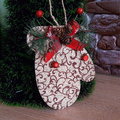 Декоративна ръкавица за окачване коледна украса за стена-Изкуство