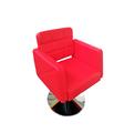 Фризьорски стол S73 - червен-Оборудване