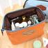 Малка козметична чантичка за гримове оранжева   Дамски Чанти  - Добрич - image 1