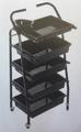 Фризьорска количка помощна 41 х 89 см-Оборудване