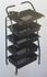 Фризьорска количка помощна 41 х 89 см   Оборудване  - Хасково - image 0