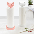 Поставка за кухненска хартия котка пластмасова стойка за кух-Други