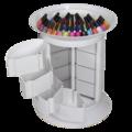 Количка за маникюр Sofi Plus - бяла 49 х 49 х 62 см-Оборудване