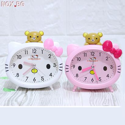 1350 Детски будилник Hello Kitty настолен часовник с аларма | Други | Добрич