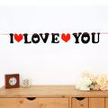 1370 Парти лента с надпис I LOVE YOU-Други