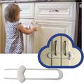 1371 Обезопасителен заключващ механизъм за вратичка на шкаф-Други
