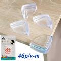 1380 Комплект силиконови предпазители за ъгли на маса 4бр-Други