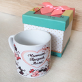 1426 Керамична чаша Честит празник, мамо! Обичам те! в подар-Дом и Градина