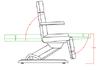 Електрически стол - кушетка Maxi (4 мотора) 190 х 61/89 х 57 | Оборудване  - София - image 5