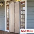 1451 Завеса Комарник за врата с магнити 90x205cm-Други