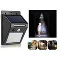 369 Водоустойчива стенна соларна LED лампа със сензор за дви-Други