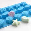 1476 Силиконова форма за бонбони и дребни сладки морско дъно-Други