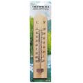 1539 Дървен стаен термометър 25см-Дом и Градина