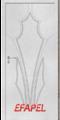 Интериорна врата Efapel 4535p-Строителни