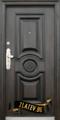 Метална входна врата модел 539-Строителни