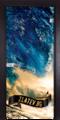 Стъклена интериорна врата Print G 13-19 с каса Венге-Ремонти
