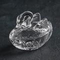 1664 Стъклена захарница Лебед-Дом и Градина