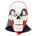 1731 Страховита парти маска череп с качулка-Изкуство