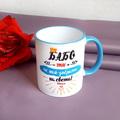 1999 Керамична чаша с надпис БАБО ти си най-добрата на света-Дом и Градина