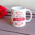 1992 Керамична чаша с надпис Чашата на най-добрата съпруга н-Дом и Градина