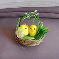 1991 Великденска декорация Пиленца в гнездо-Дом и Градина
