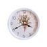 2039 Модерен кръгъл часовник с принт букет от цветя, 22.5см | Дом и Градина  - Добрич - image 1