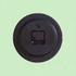 2039 Модерен кръгъл часовник с принт букет от цветя, 22.5см | Дом и Градина  - Добрич - image 2