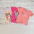 Комплект детски тениски за момиче-Дрехи и Аксесоари