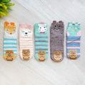 2178 Дестки чорапи Животни с ушички, 35-38 номер-Детски Дрехи