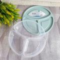 2236 Кръгла кутия за храна с 3 отделения Smart BPA FREE-Дом и Градина