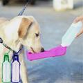 2234 Бутилка за вода за домашни любимци сгъваема поилка шише-Дом и Градина